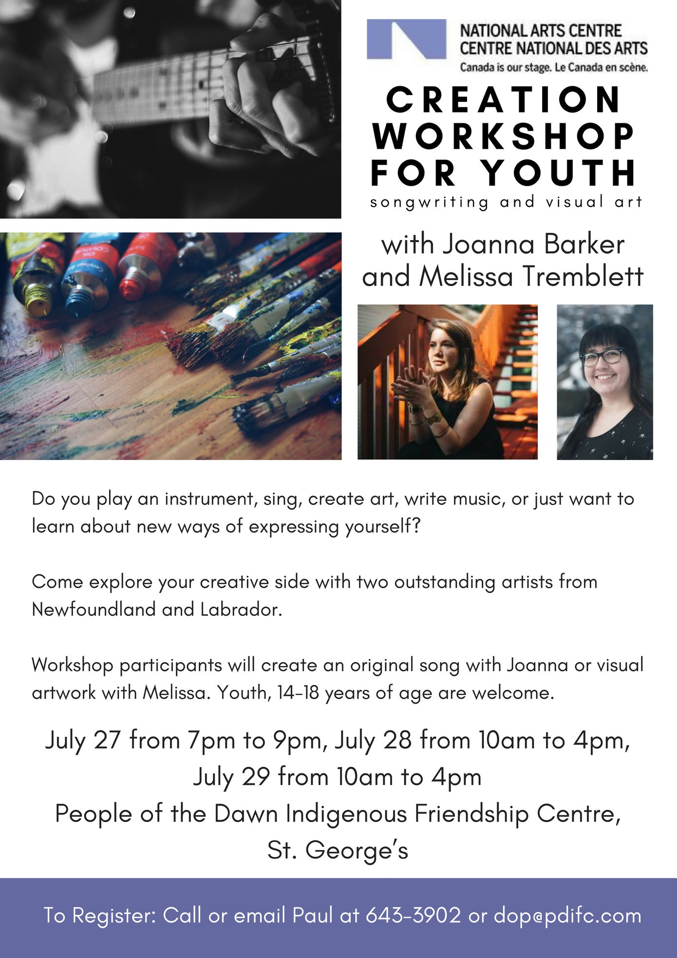 Creation Workshop for Youth