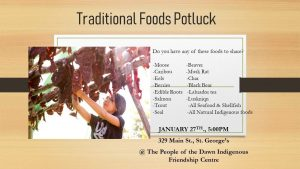 Traditional Potluck @ Indigenous Friendship Centre