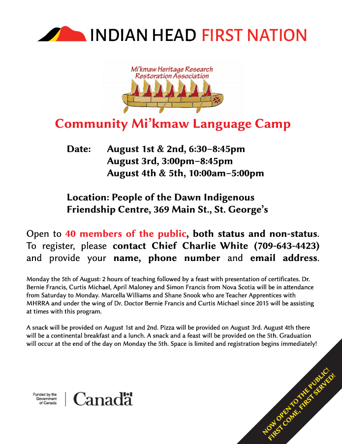 Language Camp now open to the public!